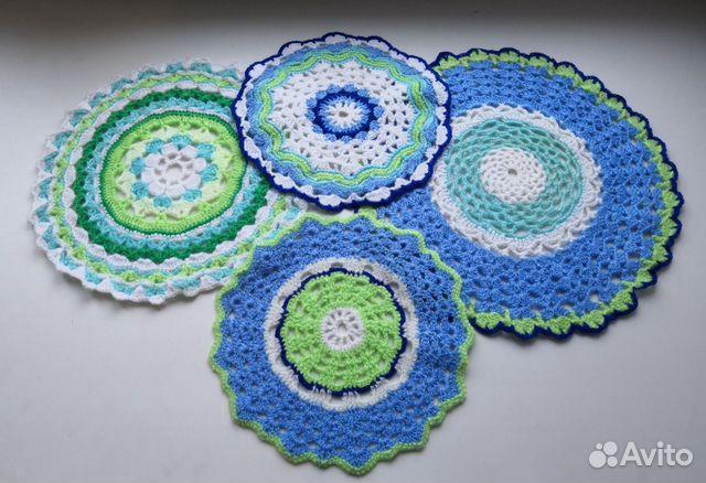 Crocheted napkins 89501043881 buy 1