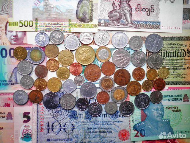 Иностранные монеты и банкноты 89176361160 купить 1