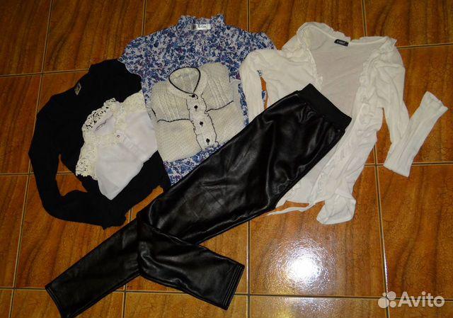 Одежда пакетом + кож.штаны  89009302034 купить 2