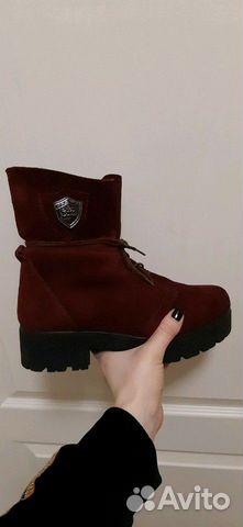 Зимние ботинки замша 89147720690 купить 4