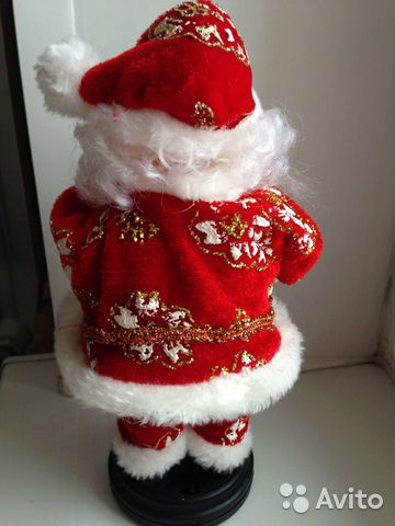 Дед Мороз Санта Клаус музыкальный