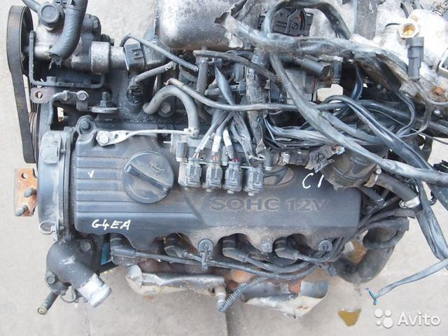 84732022776 Двигатель Hyundai Accent II (+та) 2000-2012