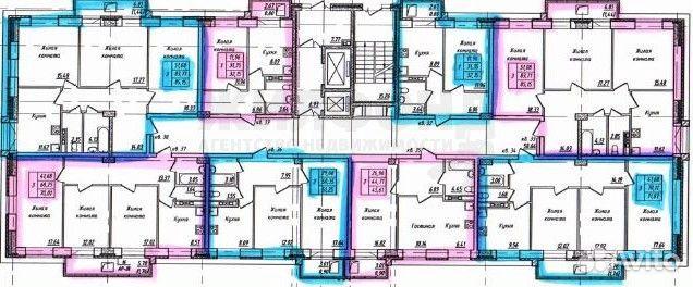 2-room apartment, 50.8 m2, 16/16 FL. 89132100033 buy 3