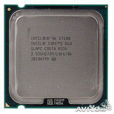 Intel Core 2 Duo E7200 2.53 GHz 2core— фотография №1