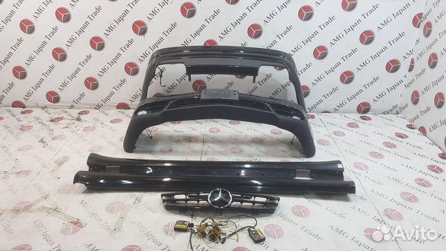 Комплект обвеса AMG на Mercedes W219 CLS55