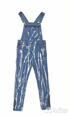 Крутой джинсовый комбинезон Stella MCCartney 89273919306 купить 1