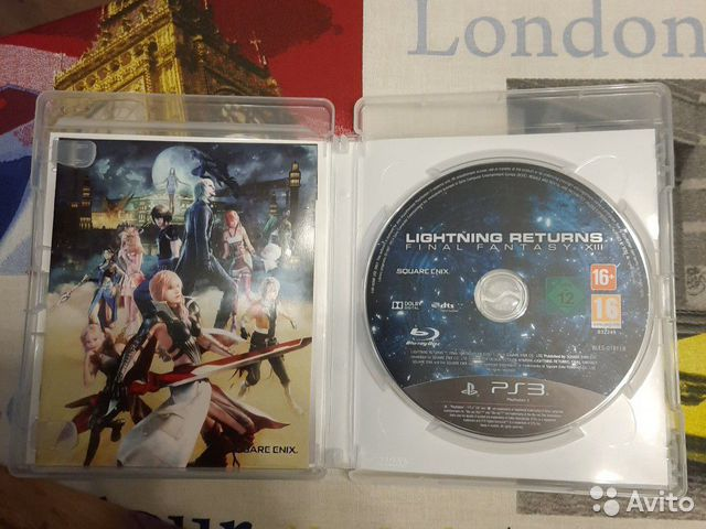 Final Fantasy xiii для PS3  89611345833 купить 4