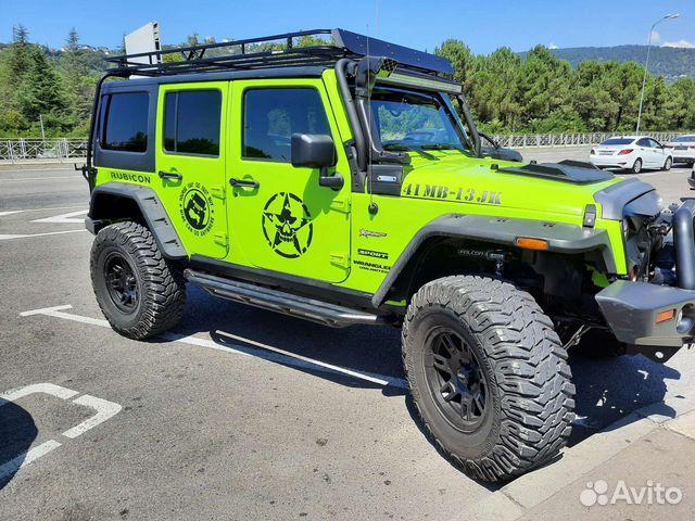 Jeep Wrangler, 2012  89679153448 купить 5