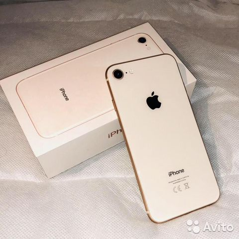iPhone 8 64гб золото оригинал новый  89107310080 купить 1