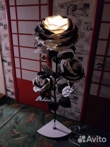 Торшер Ростовые цветы Роза  89009049190 купить 3
