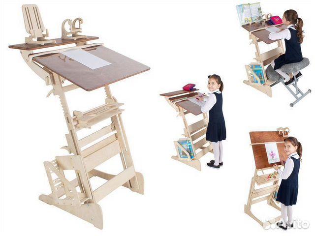 Письменный стол парта для школьника  89219018263 купить 5