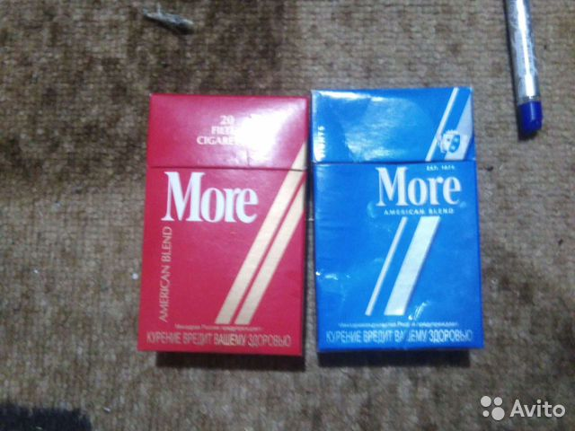 купит сигареты more