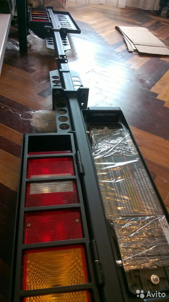 Кронштейны задних фонарей противоподкатный брус  89523983266 купить 4
