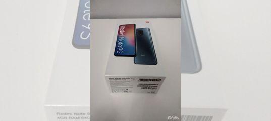 Xiaomi Redmi Note 9s 4/64,Ростест,офиц гарант в ро купить в Республике Чувашия | Бытовая электроника | Авито