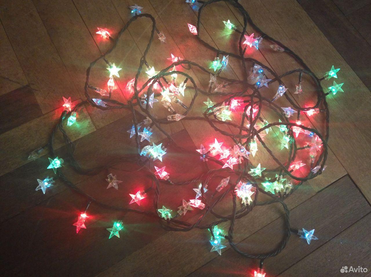 Электрическая гирлянда «Звездочки» (разноцветная)  89959110833 купить 7