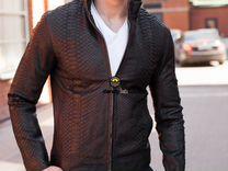 Куртка мужская из кожи питона С-67