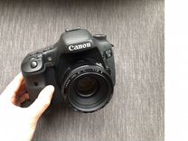 Canon 7d с объективом canon 50 1.8
