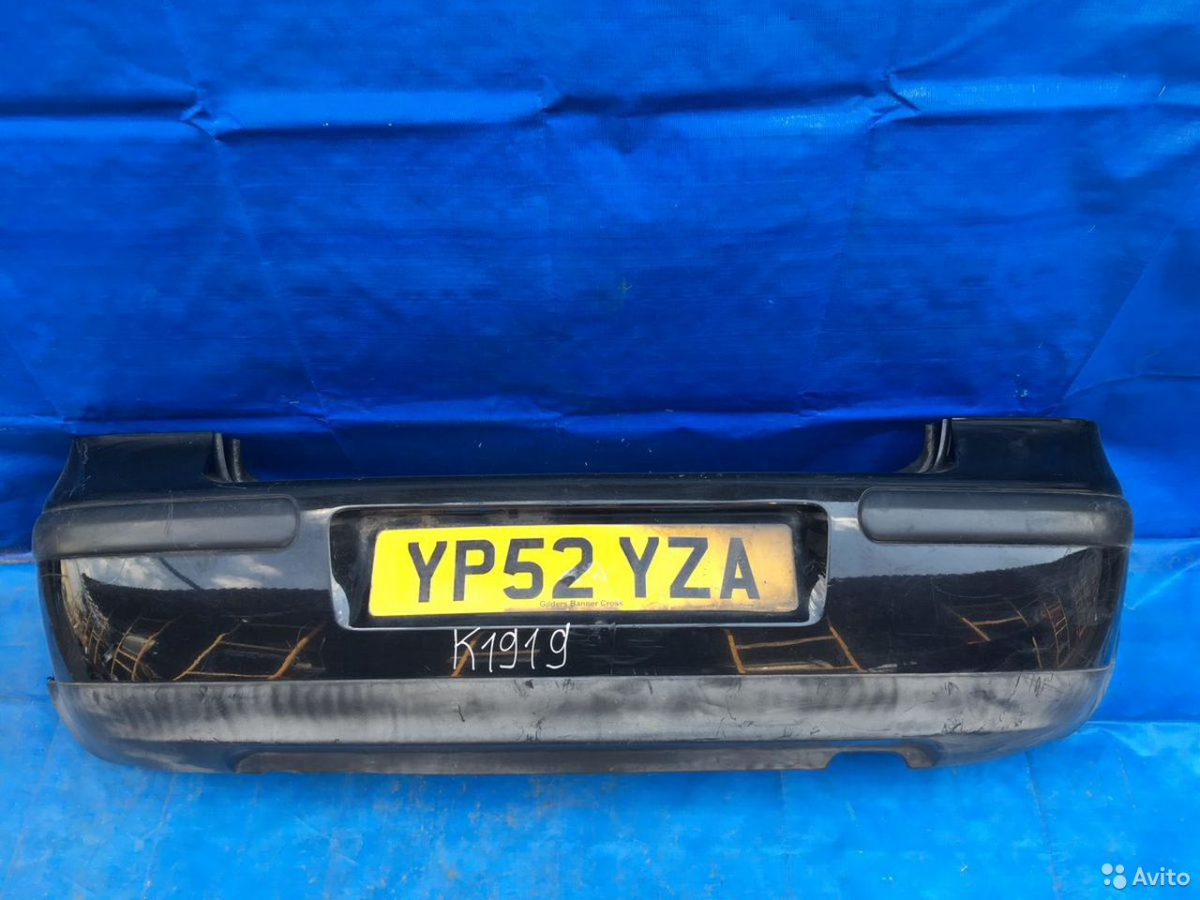84732022776  Бампер задний Volkswagen Golf 4 1997-2004