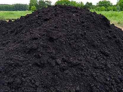 Чернозем, земля плодородная, земля торфяная, перег