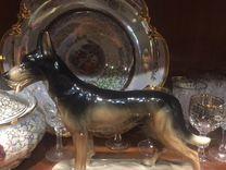 Собака фарфоровая Овчарка