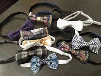 Сережки и галстуки-бабочки