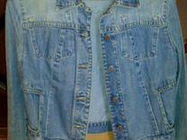 Куртка джинцевая — Одежда, обувь, аксессуары в Геленджике