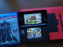 Nintendo 3ds+bloodborne+графический планшет