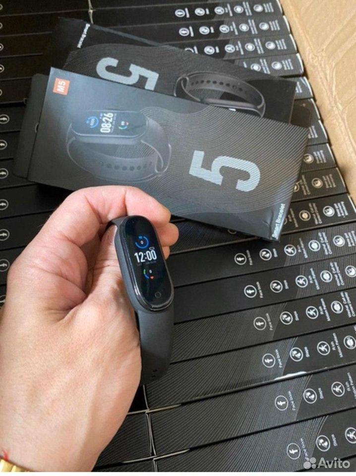 Фитнес браслет Xiaomi Mi Band 5 + Гарантия  89836272554 купить 4