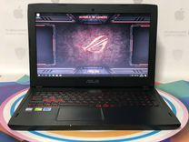 Игровой ноутбук Asus IPS GTX1050 SSD128/1TB
