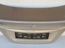 Solaris Крышка багажника седан, новая, оригинал