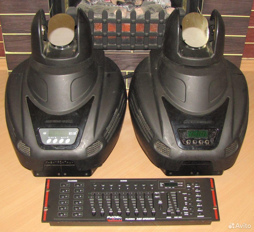 Pro светомузыка головы MOS300 2шт пульт DMX Proel  89128899109 купить 4