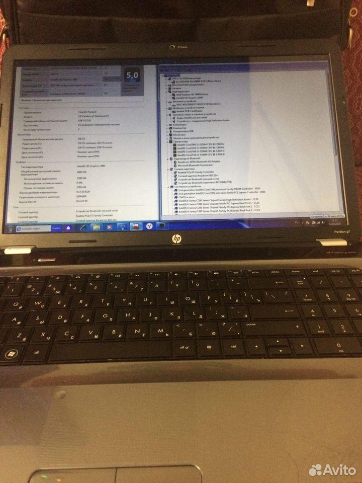 Ноутбук HP G7 i3-2.3Ггц/6Гб/320Гб/17Продажа Обмен  89324143322 купить 3