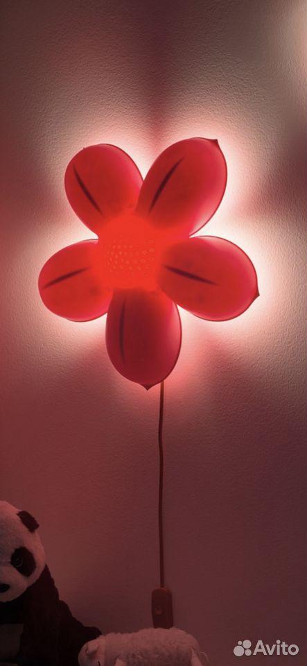Светильник Икеа в виде цветочка смила блумма