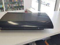 PS3 12GB 2 джойстика + 1 игра Гарантия от магазина