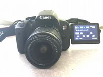Canon EOS 650D kit 18-55