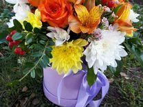 Букеты, цветы в коробках, авторские букеты и компо