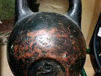 Гиря 16 кг СССР