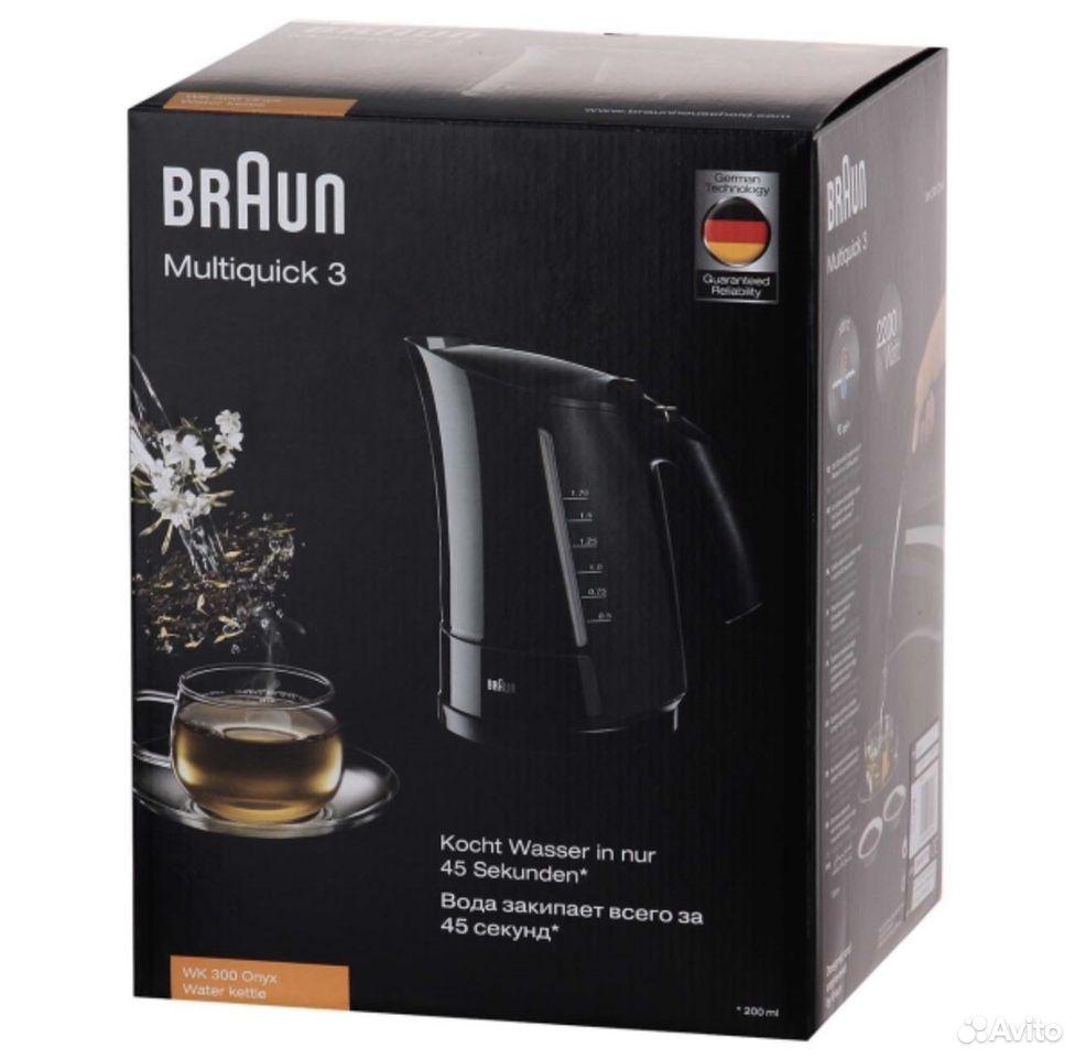 Чайник Braun wk300black/white  89048953939 купить 3