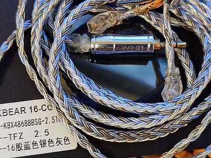 Балансный кабель 2.5 2pin 0.78