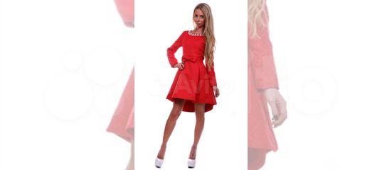 88f982cf6ef Платье красное с пышной юбкой купить в Санкт-Петербурге на Avito —  Объявления на сайте Авито