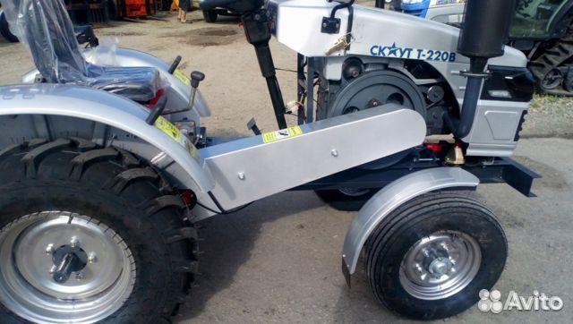 Мини-трактор Скаут Т-220B, 4х2, 18 л.с  88007074451 купить 6