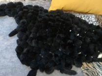 Косынка натуральный кролик, черный — Одежда, обувь, аксессуары в Санкт-Петербурге