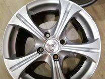 Литые дискиnz wheels 1077 (BKF)
