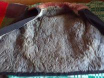 Тулуп овчинный новый в рукавах мех