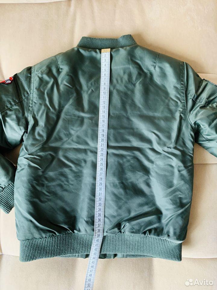 Бомбер р.116 демисезон (куртка утепленная)  89875129176 купить 2