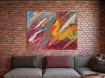 Интерьерная картина Абстракция 60х80 — Мебель и интерьер в Москве