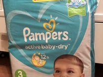 Подгузники Pampers Active Baby 6-10кг 82шт