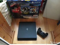 Sony ps4 slim black