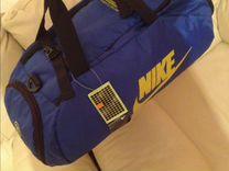 Сумка-рюкзак Nike голубая новая — Одежда, обувь, аксессуары в Санкт-Петербурге