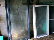 Окно раздвижное алюминиевое